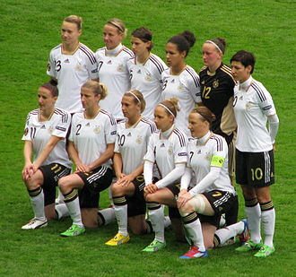 Germany women's national football team - German national team in 2012
