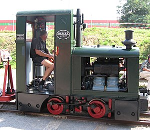 Feldbahn - Deutz OMZ 117F with 2 cylinders