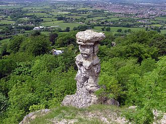 Leckhampton - The Devil's Chimney on Leckhampton Hill
