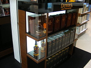 Dewar's - Dewar's Scotch Whisky bottles