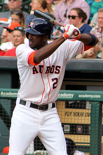 Dexter Fowler - Fowler with the Houston Astros
