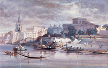 Dhaka under British rule in 1861