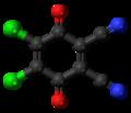Dichlorodicyanobenzoquinone 3D ball.png