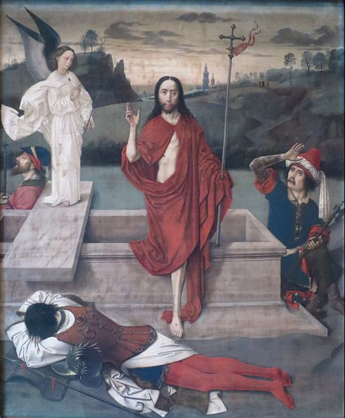 Resurrection, by Dieric Bouts, c. 1450–1460