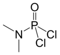 Dimethylamidophosphoric-dichloride-2D-skeletal-by-AHRLS-2011.png