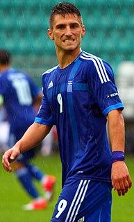 Dimitris Diamantakos Greek professional footballer