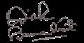 Dirk Benedict (signature).png