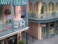 Disneyland New Orleans Square From Balcony 2013.JPG