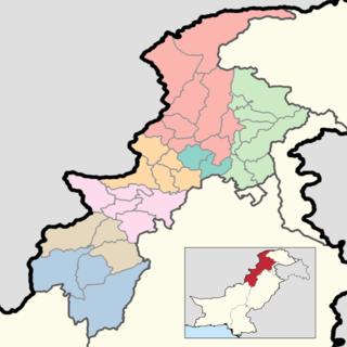 Districts of Khyber Pakhtunkhwa