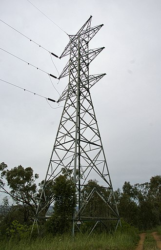 Electricity Commission of New South Wales - A disused ELCOM transmission tower