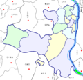Divisions of Yuelu district, Changsha.png