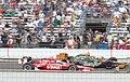 Dixon victory lap 2008 Indy 500.jpg