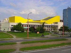 Cultural center - House of Culture Dúbravka in Bratislava, Slovakia