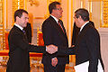 Dmitry Medvedev with Juan Valdés Figueroa.jpg