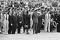 Dodenherdenking bij Nationaal Monument op de Dam, koningin Juliana, prins Bernha, Bestanddeelnr 919-1101.jpg