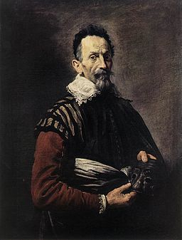Domenico Fetti - Portrait of an Actor - WGA7859