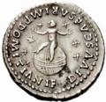 Domitian denarius son reverse.PNG