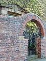 Doorway to 13 Brandling Park, Newcastle upon Tyne.jpg