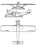 Dornier Do L Delphin III 3-view Le Document aéronautique September,1928.png