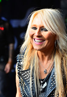 Doro (musician) German rock singer and frontwoman of Warlock