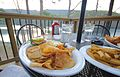 Douthat Lakeview Restaurant-deck-food with a view-douthat chips (17821305441).jpg