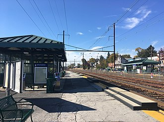 Downingtown, Pennsylvania - Downingtown Station, which serves SEPTA and Amtrak trains