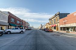 Downtown Avoca, Iowa