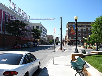 Cheyenne, Wyoming - Downtown Cheyenne