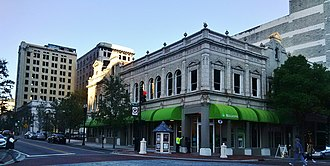 Regions Financial Corporation - A Regions Bank located on Laura Street in Jacksonville, Florida's financial district