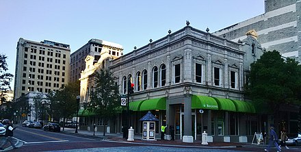 A Regions Bank located on Laura Street in Jacksonville, Florida's financial district Downtown Jacksonville - panoramio (2).jpg