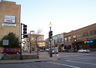 Oshkosh, Wisconsin - Image: Downtown Oshkosh, Wisconsin, in 2006