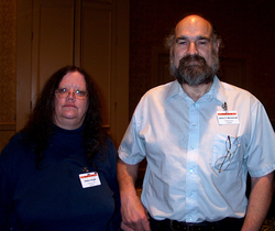 Jim Macdonald and Debra Doyle at Readercon