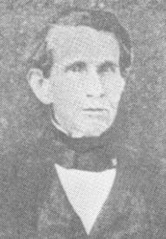 Shackelford County, Texas - Dr. 'Jack' Shackelford, namesake of Shackelford County