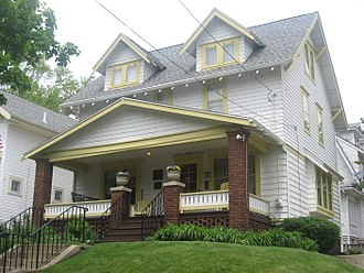 History of Alcoholics Anonymous - Dr. Robert Smith's House in Akron