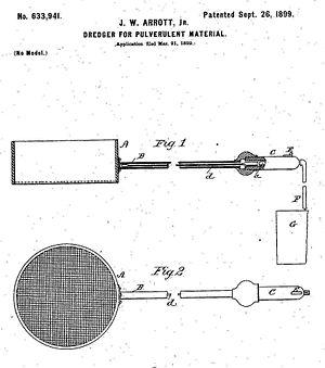 Standard Sanitary Mfg. Co. v. United States - Automatic dredger of U.S. Pat. No. 633,941