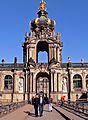 Dresden Zwinger -- Kronentor (6318365782).jpg