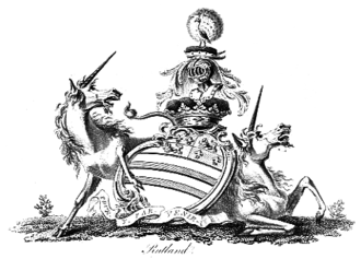 Duke of Rutland - Arms of the Dukes of Rutland