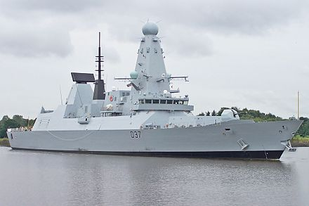 HMS Duncan, the Type 45 guided missile destroyer Duncan (7899777334).jpg