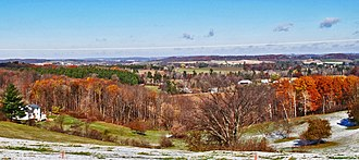 Dunn County, Wisconsin - Dunn County, WI, countryside, west of Menomonie