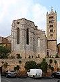 Duomo di massa marittima, esterno, abside e campanile 01.JPG