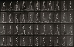 E. Muybridge ascending an incline and descending an incline. Wellcome V0048726.jpg