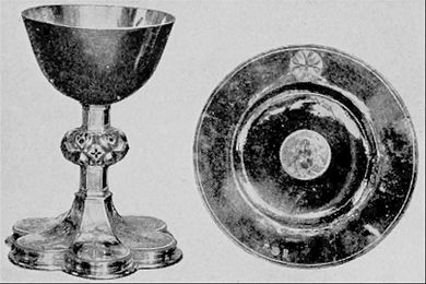 EB1911 Plate - Gold Chalice and Paten of Bishop Foxe.jpg