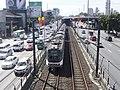 EDSA-Orense - Line 3 train (Guadalupe, Makati; 2014-12-03).jpg