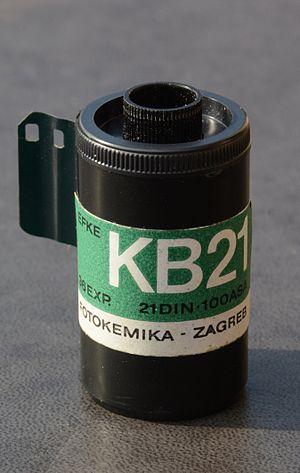 Efke - Image: EFKE KB21 Black & white film