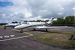 EGLK - Cessna 525A CitationJet CJ2 - M-TBEA (43168447645).jpg