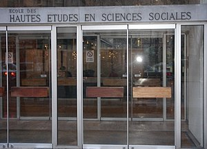 School for Advanced Studies in the Social Sciences cover