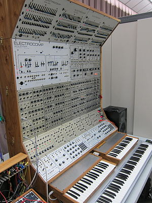 Electronic Music Laboratories - Image: EML Electro Comp modular synth & sequencer