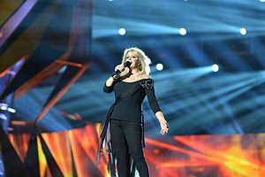 United Kingdom in the Eurovision Song Contest 2013 - Bonnie Tyler at rehearsal in Malmö