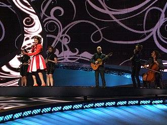 Belgium in the Eurovision Song Contest - Image: ESC 2008 Belgium Ishtar, 1st semifinal