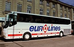 EUROLINES CATEANO COACH AT FRANKFURT HAUPT BANHOF GERMANY APRIL 2013 (8695721549).jpg